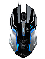 LED Optical Wired Mouse With Backlight Metal Cable Mouse Gaming Mice For Raton Inalambrico Deathadder Souris Pc Gamer