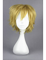 Kagerou project-kano syuya light yellow short anime 14inch perruque cosplay cs-167b