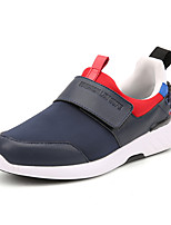Men's Sneakers Spring Summer Fall Winter Comfort Polyester Outdoor Athletic Casual Hook & Loop Blue Gray Black Walking