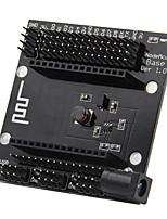 Notemcu placa de base esp8266 placa de alimentação serial