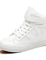 Damen-Sneaker-Lässig-PUKomfort-Weiß Rosa