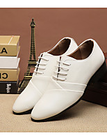 Men's Oxfords Spring Comfort PU Leatherette Casual Black White