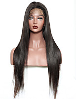 Premierwigs Human Hair Straight Hair Lace Wigs Celebrity Wigs 100% Real Hair Brazilian Virgin Human Hair Glueless Lace Front Wigs With Baby Hair