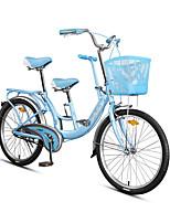 Комфорт велосипеды Велоспорт Others 22 дюймы 24 дюймы Векторный ободной тормоз Без амортизации Без амортизации Обычные Противозаносный