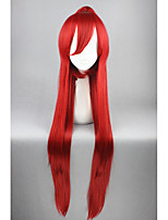 Long Gurren Lagann-Yoko Red Anime 40inch Ponytail Cosplay Wigs CS-171A