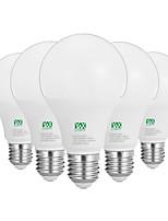 12W E26/E27 Lâmpada Redonda LED 24 SMD 2835 1100-1200 lm Branco Quente Branco Decorativa AC100-240 V 5 pçs