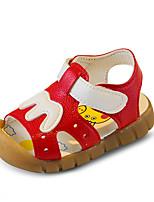 Girls' Sandals Spring Summer Fall Comfort PU Casual Flat Heel