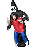 Fantasias de Cosplay Artigos de Halloween Baile de Máscara Inflável Impermeável Esqueleto/Caveira Cosplay de FilmesCollant/Pijama Macacão