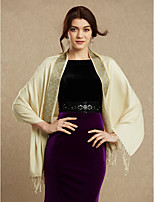 Shall We Women Wrap Shawls Cotton Wedding Party/Evening Rhinestone