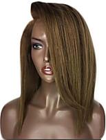 New Style Brazilian Virgin Hair Bob Wigs Straight Hair Lace Front Human Hair Wigs Short Virgin Hair Bob Wig for Woman