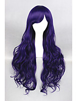 Long Dark Purple Beautiful Lolita 32inch wig CS-131A