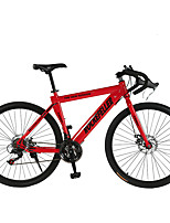Mountain Bike Cycling 21 Speed 26 Inch/700CC SHIMANO TX30 Double Disc Brake Ordinary Steel Frame Ordinary/Standard Steel
