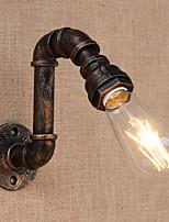 AC 110-130 AC 220-240 40 E26/E27 러스틱 Kontor/företag 페인팅 특색 for 미니 스타일 전구 포함,주변 라이트 벽 스콘스 벽 빛