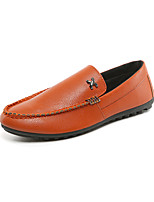 Men's Loafers & Slip-Ons Spring Summer Fall Winter Comfort Light Soles Leatherette Outdoor Office & Career Casual Flat Heel Beading Rivet