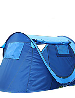 2 persons Tent Single Automatic Tent One Room Camping Tent 1500-2000 mm Carbon Fiber OxfordMoistureproof/Moisture Permeability Waterproof