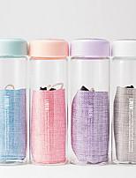 Transparente Artigos para Bebida, 300 ml Portátil Vidro Água Vacuum Cup