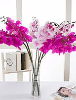 1 Une succursale Polyester Autres Fleur de Table Fleurs artificielles