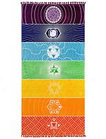 Enipate bohème mur suspendu india mandala couverture multicolore tapisserie arc-en-ciel rayures voyage été boho toile de plage tapis de