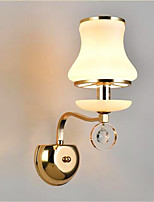 Ac 220-240 5 e14 מודרני / עכשווי electroplated תכונה עבור קריסטל הוביל מיני בסגנון העין הגנה הסביבה אור הוביל אורות קיר