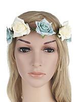 Womens Fashion Handmake Flowers Many Color Rose Headdress flower