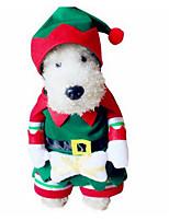 Hunde Kostüme Hundekleidung Winter einfarbig Niedlich Modisch Lässig/Alltäglich Dunkelgrün