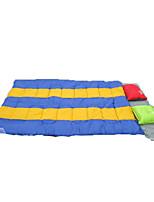 Спальный мешок Прямоугольный Односпальный комплект (Ш 150 x Д 200 см) -5 Пористый хлопок150 Пешеходный туризм Походы ПутешествияСохраняет