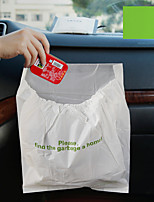 3Pcs Car Garbage Bag Disposable Auto Trash Bag for Litter Large Capacity Leak-Proof Portable Convenient