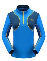 LEIBINDI Femme Manches longues Course / Running Tee-shirt Respirable Séchage rapide Vestimentaire Confortable Printemps EtéVêtements de