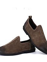 -Для мужчин-Для прогулок Повседневный-Замша-На плоской подошве-Удобная обувь-Мокасины и Свитер