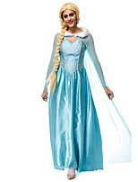 Adult Elsa Princess Costume Anime Fantasia Princess Cosplay Clothing Women Kigurumi Anime Role Play Fancy Party Dress Outfits