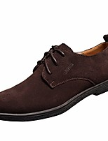 Men's Oxfords Spring Comfort Suede Tulle Casual