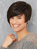 Natürliche kurze Haare Menschenhaar Perücke Frau Haare 2 Farbauswahl