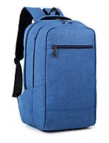 15,6 polegadas ultra-leve mochila computador mochila estilo coreano impermeável cor pura unisex