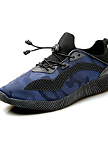 Men's Athletic Shoes Spring Summer Fall Winter Comfort PU Outdoor Athletic Casual Gore Black/Blue Black/White Black/Red Walking