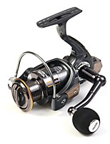NEW ARRIVAL Spinning Reel Aluminium Spool 91 Ball Bearing Max Drag 8kg Carp Fishing Reel