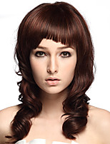 Natural Wave Synthetic Fiber Wig Heat Resistant For Women Party Costume Wig