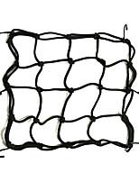 Lorcoo stockage réseau élastique noir araignée hyosung comète gt 250 givi t10 n moto scooter40 * 40cm)