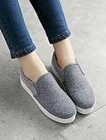 Women's Sneakers Light Up Shoes Canvas Casual Gray
