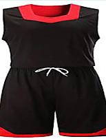 361 ° ® Herren Kurzarm Basketball Kleidung Sets / Anzüge atmungsaktiv bequem grün schwarz blau lila grün schwarz blau lila