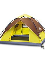 徽羚羊 3-4 personnes Tente Double Tente automatique Une pièce Trois pièces Tente de camping OxfordEtanche Respirabilité Résistant aux