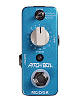 Mooer Pitch Box Pitch Guitar Effect Pedal 3 Effects Modes Harmony/Pitch Shift/Detune Full Metal Shell True Bypass