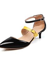 Mujer-Tacón Stiletto-Confort Innovador Zapatos del club-Tacones-Boda Oficina y Trabajo Vestido Informal Fiesta y Noche-Cuero Patentado