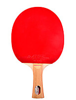 5 étoiles Ping Pang/Tennis de table Raquettes Ping Pang Bois Long Manche Boutons