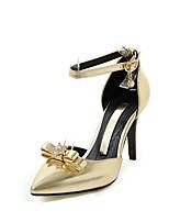 Femme-Mariage Habillé Soirée & Evénement--Talon Aiguille-Bride de Cheville club de Chaussures Confort-Sandales-Matières Personnalisées