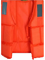 Life Jacket Waterproof Quick Dry Breathable Diving Surfing Sailing Classic Orange