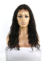 10-26 Inch Glueless Lace Front Water Wave Wig Brazilian Human Virgin Human Hair  Wig with Baby Hair