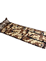 Portable Inflated Mat Camouflage Camping Traveling Oxford PVC
