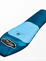Sleeping Bag Mummy Bag Single -5 Duck Down85 Camping Traveling Outdoor Indoor Waterproof Breathability Keep Warm 徽羚羊