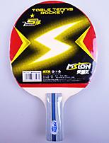 1 Etoile Ping Pang/Tennis de table Raquettes Ping Pang Bois Manche Court Boutons