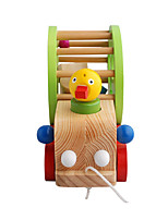 Building Blocks For Gift  Building Blocks Model & Building Toy Duck Wood 2 to 4 Years 5 to 7 Years Toys